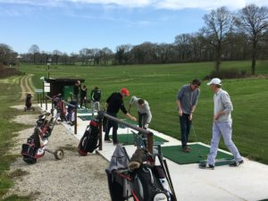 Golf Carhaix cours collectif