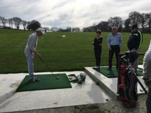 Leçon golf Carhaix