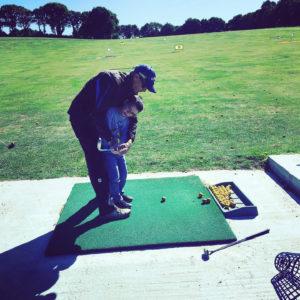 Initiation enfant Carhaix golf